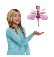 2014 girl's new Electronic Flying Fairy Infrared Induction Remote Flying Angel Baby Dolls s Remote control toys Free Shipping #9