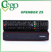 5pcs Original Openbox Z5 Satellite Receiver Openbox X5 receiver satellite hd with  Youtube Google Maps Weather CCcam Newcam