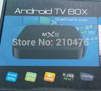 Newest MXIII TV Box Amlogic S802 Quad Core+ XBMC+1G/8G WiFi+4k+ HDMI +Android 4.4 MX III Media Player Better Than MX TV Box