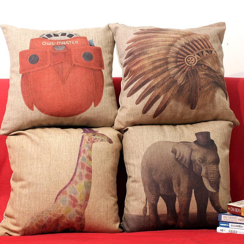 qualidade superior quadrados elefante sofá decoração home roupa de tampa do carro assento caso pollow decoração vintage pcz151 cadeira conjunto(China (Mainland))