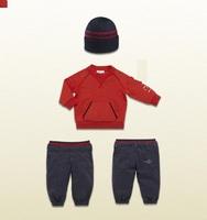 New 2014  Boys Winter Clothing Baby Boy Clothing Set Autumn 3pcs Suit T shirt + Pants+Hat kids clothes conjunto de roupa