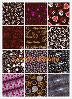 12PCS Mix Hot Design Chocolate Transfer Sheet DIY Chocolate M old Chocolate Printed Sheet,Chocolate/Cake Decoration 21*31cm