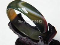 Retail / new / free shipping / women gift / 100% natural beautiful yellow jade bracelet 58MM
