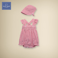 2014 summer new baby clothes climbing clothes baby girls strap sleeveless Romper Siamese triangle bag fart clothing