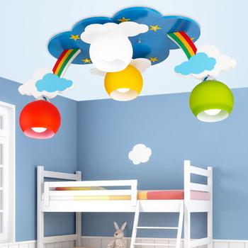 kids bedroom cartoon surface mounted ceiling lights modern