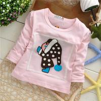little baby girls clothing baby children sweatshirts hoodies drop shippig KT231R