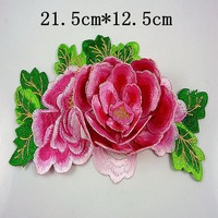 1pcs Fashion DIY Six-layer 3D flowers motif applique embroidery for decoration high quality flowers A++