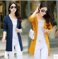 new women's long shawl female knit long-sleeve cardigan coat supersize sweater