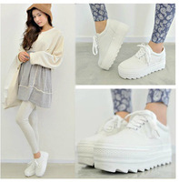 2014 women fashion sneakers platform canvas shoes low fashion all-match casual female shoes
