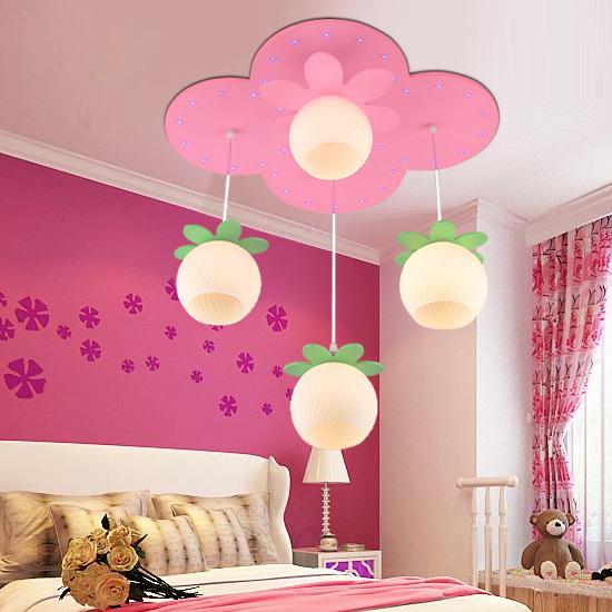 Little girl bedroom lamp child pendant light cartoon lighting For children(China (Mainland))