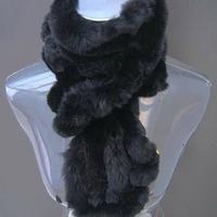 2014 rex rabbit fur scarf women winter scarf