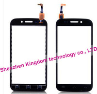 New 2014 items Free Shipping Touch Screen Front Panel Digitizer Glass Sensor Replacement For Wiko Cink Stairway