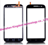 New 2014 items Free Shipping Touch Screen Front Panel Digitizer Glass Sensor Replacement For Wiko Cink Five