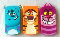 10 -3D Cartoon Animal Monsters Sulley Tigger Marie Alice Cat For Samsung Galaxy S3 mini S4 mini i8190 i9190 Silicone Case Cover