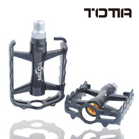 Free shipping bearing bicycle mountain bike  pedals giant  aluminum alloy bicycle pedal