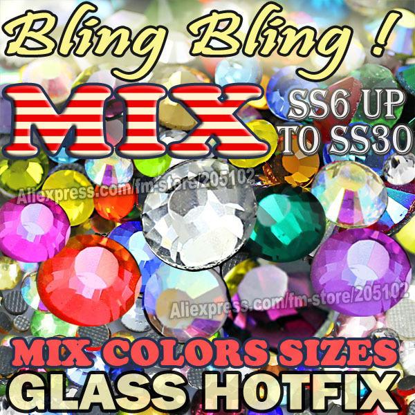Стразы для одежды DMC from BlingInBox.com & ! 800pcs/dmcfix , SS6 SS10 SS16 SS20 SS30 Different sizes colors mixed стразы для одежды dmc from blinginbox com 1550pcs abfix ss6 8 ss10 ss12 ss16 ss20 ss30 fix strass diy hotfix sizes mixed