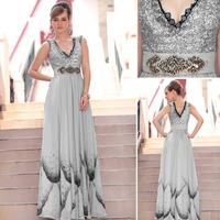 Mother Of The Bride Dresses Time-limited 2014 Promotion Sale Tencel Tank Vestidos De Festa Vestido Longo Renda Evening Dress2014
