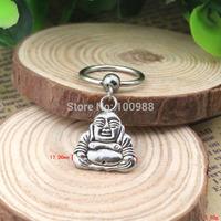 BN00172 10PCS/Lot Free Shiping vintage lovely buddha nipple ring