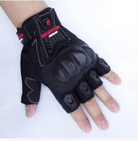 2014 new Scoyco MC12D Motorcycle Half Finger Summer High Protective Shell Racing Gloves motorcycle parts drop ship