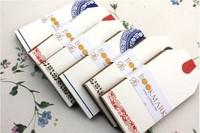 Holiday Greeting Card Graffiti Mini China style Vintage Blank Diy Message Card Kraft 350G Paper Small Greeting Card 8.6cmX4.6cm