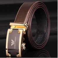 2014 men's genuine leather belt fashion business belts for men
