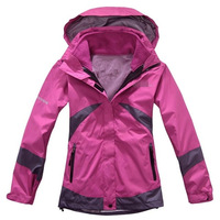 Factory direct wholesale brand new authentic piece Ms. Jackets windproof warm water ski mountaineering clothing