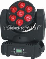 Free Shipping Osram 12W x 7pcs RGBW 4-in-1 led moving head beam light