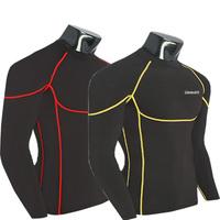 Supplex dry fit Yoga Mens gym Wear t shirt Lightweight Running Fitness gym equipment Baselayer Skins Tights Workout