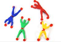hot sell lilliputian Climbing spider-man/sticky spider man climbing wall superman wholesale/climbing SIMS/people/climb a wall