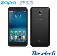 5 inch Quad core 8MP 4G FDD LTE Zopo zp320 Smart phone Android 4.4 Celular Ips Screen 960*540 mtk 6582M 1.3Ghz RAM 1G + 8G OTG