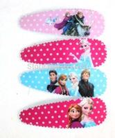 Wholesale Lots ~ Fashion Cartoon Frozen Hair Clip 10 Packet 60 Pairs