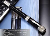 14k Platinum Mark Twain Memorial Edition Luxury Gel Pen, Hot Sale New Design Brand Pens, Gift Pen Stationery