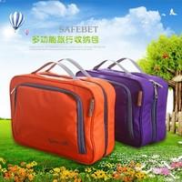 Free shipping BF050 Fashion bag travel of high-quality Oxford cloth portable washing bag storage bag 27*19cm