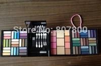 Top Professional Maquiagem Eye Shadow Powder Blush Palette 66 Color Cosmetics Suit Makeup Eyeshadow With Sponge & Mirror