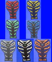 Free shipping 20PCS For  APRILIA YAMAHA HONDA SUZUKI 3D Gas Decal Sticker Motorcycle Polyester Resin Tank Pad Protector