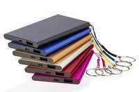 10000mAh 10000 mAh Luxury Metal smart slim Powerbank Power Bank Portable Charger key chain Carregador Portatil Externa Bateria