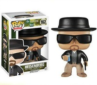 free shipping 2014 FUNKO POP  Q Edition Breaking Bad HEISENBERG action figure set new box  in stock now