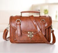 Vintage Famous Designers handbag women messenger bags pu leather Shoulder bag Lady messenger bag PL318#40