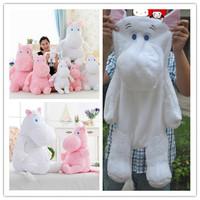 Free shipping 100cm cute cartoon Moomin hippo plush toys skin, no fill, baby toy Moomin plush doll, Girls Valentine's Day gift
