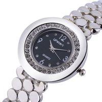 Upstart Watch& Fashion Women Luxury Diamante Women Stainless Steel Quartz Watches