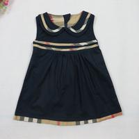 Hot! Retail 1pcs/lot baby clothing girls dresses summer 2014 princess dress white baby dress  cute dress 3colors 6251