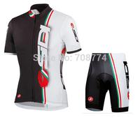 Newest 2014 Sidi Good Quality Hot Selling Sport Jersey(Upper)/Short(Lower)/Bike Wear/Biking Gear/Some Sizes/Italy Ink