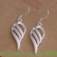 AE005 925 sterling silver earrings , 925 silver fashion jewelry , ablaze conch /ajgajana flwaodda