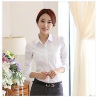 2014 ol women's Elegance  shirt  long-sleeve blouse plus shirt S-XXL  Free shipping XM-S8802