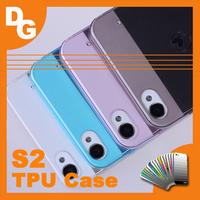 10 pcs/lot 100% Original Soft TPU Protective Cover Case For JIAYU S2 Gorilla 2 1920*1080 Smartphone