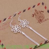 AE437 925 sterling silver earrings , 925 silver fashion jewelry , snowflake/ wicker /azkajqra gcmaotta
