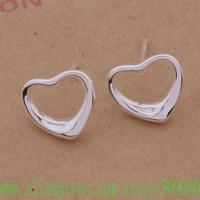 AE190 925 sterling silver earrings , 925 silver fashion jewelry , delicate heart /apxajhea fszaokga