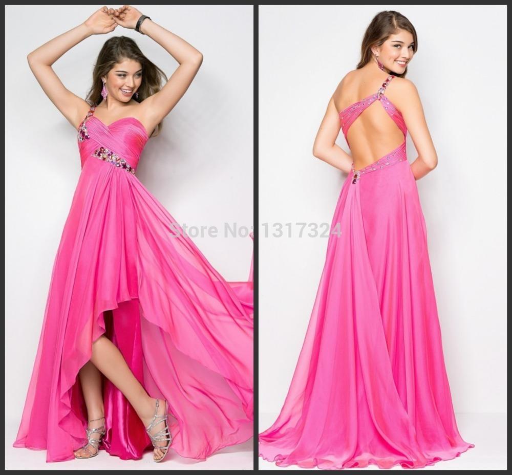 One shoulder chiffon plus size wedding dresses   images   dresses8.com