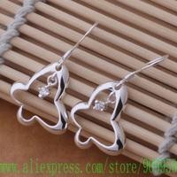 AE591 925 sterling silver earrings , 925 silver fashion jewelry , beautiful butterfly /bfiajwpa gikaozra