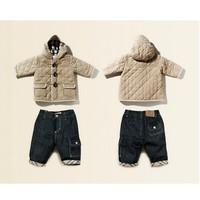 Retail children's winter clothing set baby BoyHoodies Coat+Pant 2pcs Newborn baby clothing conjuntos roupas de bebe kids clothes